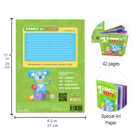 Smart Book 'Games Mathematics' (Season 1)